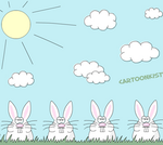 Funny bunnies by Inilein