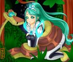 Commission Pneuma FROM Xenoblade Hypnotized by Kaa by EneTheLigthingDancer