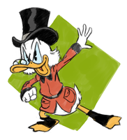 Scrooge McDuck by MauroFonseca