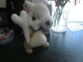 Cubone Plush by Vulpes-Canis