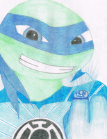 Blue Lantern Leo by Ray-Ken