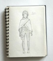 [My Sketchbook] #3 by KeiARTx