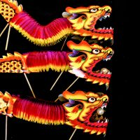 Chinese New Year dragon toys by deepgrounduk