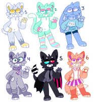 Cutie Adopts [2/6 OPEN] by SteelaRy
