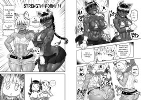 Muscle Growing Scene from Anime-Tamae episode10! by RebisDungeon