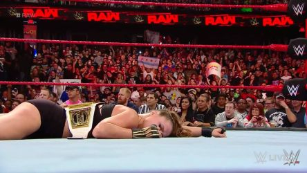 Ronda Rousey Unconscious 4 (Raw 10/08/2018)  by ryko88