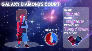 Garnet App - Outcast Court by CaIzz
