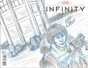 4th doctor infinity sketch cover