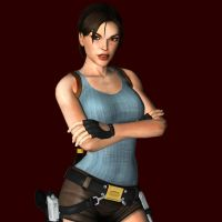 Lara Croft Photo Render by toughraid3r37890