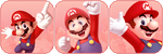 Mario Red Divder by MissToxicSlime