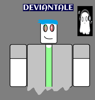 Creeperblook as napstablook for deviantale by CreeperDroid