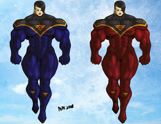 The Blue Suit or the Red Suit? by Soviet-Superwoman