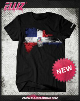 Elliz Clothing Dominican Flag design by Elisa-Feliz