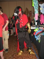 at this stange event called a con by DevinjKaibaSixx