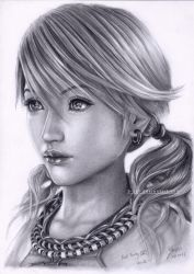 Vanille Final Fantasy 13 by B-AGT
