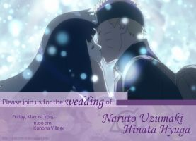 Naruto and Hinata Wedding Invitation by CaseyJewels