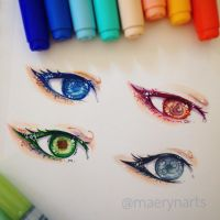 A:tla eyes! by maerynarts