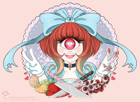 Frills and Chills by AshleyZombieArts
