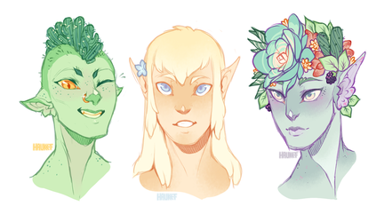Some cuties by Hauket