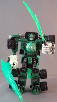 Green Lantern Optimus Prime by Shinobitron