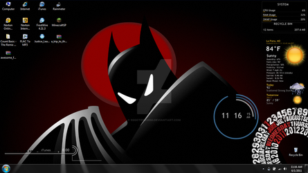 batman rainmeter 6-1-2011 by SSGotenks650