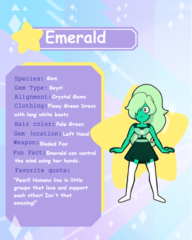 Emerald Information by StainedUsagi