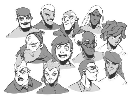Faces 4 by BrotherBaston