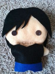 Anthony Plushie Is Almost Done!!! by gabbyk333999