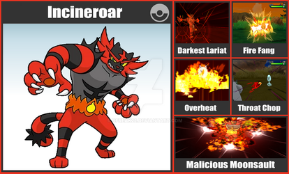 Super Smash Bros. United: Incineroar by DFreak22