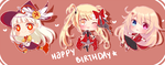 HBD : The Gift of Red by MieuMew