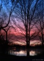 Twilight on Green Lake by monroeart