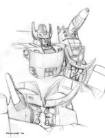 TF - E-Galvatron G1 Galvatron by Shinjuchan