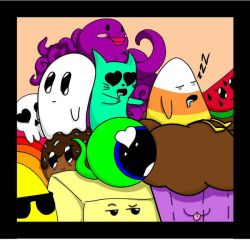 Group Photo with SamSepticeye by CheshireCatAliceJay