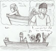 On the boat by Siisseli