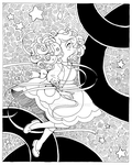 Bee and Puppycat Finale ::Open Lineart:: by YamPuff