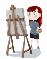 Painter (Animated) by Aviles101