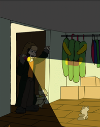 BB: Monster in the closet by vindurza