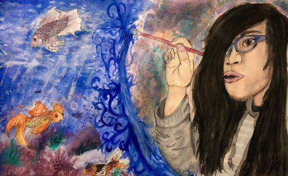 [School Project] - AP Art - Water color by mansa1212