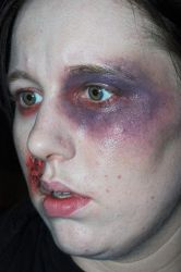 Blackeye by TheMakeupArtist