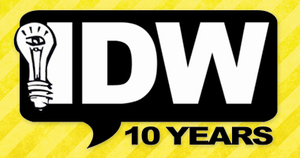IDW 10th Year Anniversary logo by Clanceypants