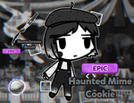 Meet Haunted Mime Cookie and Monochrome Brush! by Abdul-Galaxia