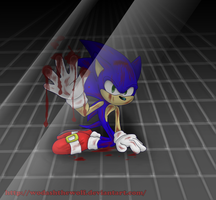 Sonic: Too weak by WodashTheWolf