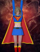 Supergirl captured by RoriLorid
