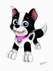 Gift: PAW Patrol OC - Luna by TheKissingHand