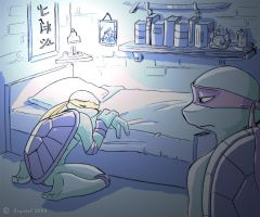 TMNT - The wrong place by xSkyeCrystalx