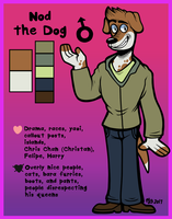 Nod the Dog (ref) by Angry-Baby