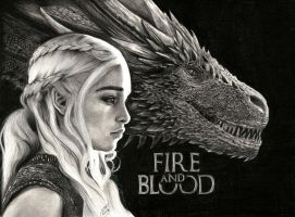 Fire and Blood by ricagstettner