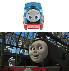 Emily's Reaction To The Railway Pal Thomas by PixarYesDoraNo2013