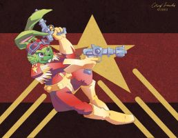 Bucky O'Hare in S.P.A.C.E! by coreylandis