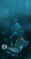 Drowning by MirageComet